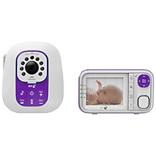 Buy BT Baby Monitior 1030, White/Purple Online at johnlewis.com