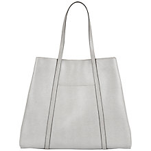 Buy Jaeger Julianne Bonded Leather Tote Bag Online at johnlewis.com