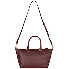 Buy Jaeger West Leather Shoulder Bag Online at johnlewis.com