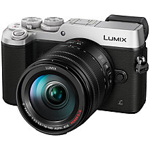 "Buy Panasonic LUMIX DMC-GX8 Compact System Camera with 14-140mm Interchangable Telephoto Zoom Lens, 4K, 20.3MP, 4x Digital Zoom, Wi-Fi, OLED Viewfinder, 3"" OLED Touchscreen Free-Angle Monitor, Splash & Dustproof Online at johnlewis.com"