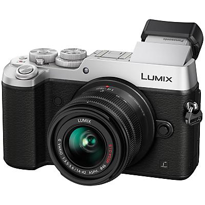 Panasonic LUMIX DMCGX8 Compact System Camera with 1442mm Interchangable Lens 4K Ultra HD 20.3MP 4x Digital Zoom WiFi OLED Viewfinder 3 OLED Touchscreen FreeAngle Monitor Splash & Dustproof