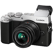 "Buy Panasonic LUMIX DMC-GX8 Compact System Camera with 14-42mm Interchangable Lens, 4K, 20.3MP, 4x Digital Zoom, Wi-Fi, OLED Viewfinder, 3"" OLED Touchscreen Free-Angle Monitor, Splash & Dustproof Online at johnlewis.com"