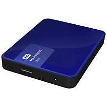 Buy WD My Passport Ultra Portable Hard Drive, USB 3.0, 3TB Online at johnlewis.com