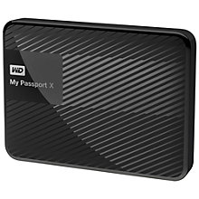 Buy WD My Passport X Games Hard Drive, 2TB, For Xbox One, Xbox 360 & PC Online at johnlewis.com
