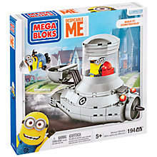 Buy Despicable Me Mega Bloks Minion Mobile Set, 194 Pieces Online at johnlewis.com
