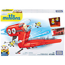 Buy Mega Bloks Minions Supervillain Jet Online at johnlewis.com