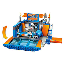 Buy Mega Bloks Hot Wheels Car Wash Attack Online at johnlewis.com