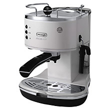 Buy DeLonghi 310.W Icona Micalite Ecom, White Online at johnlewis.com