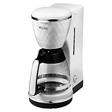 Buy De'Longhi ICMJ210 Filter Coffee Maker, White Online at johnlewis.com