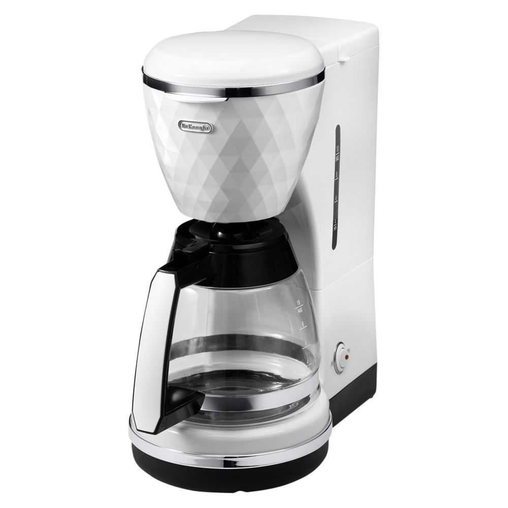 Buy De Longhi ICMJ210 Filter Coffee Maker, White John Lewis