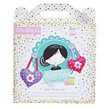 Buy Kitty Kay Little Hearts Kit, Lilac/Pink Online at johnlewis.com