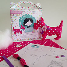 Buy Kitty Kay Little Funky Dog Craft Kit, Pink Online at johnlewis.com