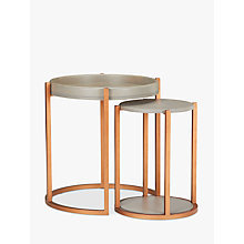 Buy John Lewis Asha Nest Of Tables Online at johnlewis.com
