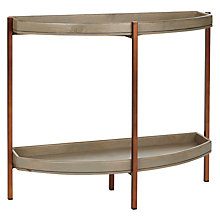 Buy John Lewis Asha Demi Lune Console Table Online at johnlewis.com