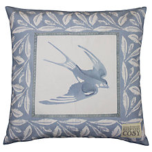 Buy Emma Bridgewater Swallows Cushion, Blue Online at johnlewis.com