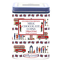 Buy Milly Green Milk Chocolate Coins & Money Box Online at johnlewis.com
