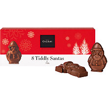 Buy Hotel Chocolat Tiddly Santas Milk Chocolate Online at johnlewis.com