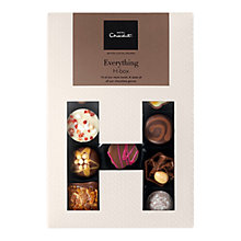 Buy Hotel Chocolat Everything H-Box Selection Box Online at johnlewis.com