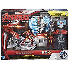 Buy The Avengers: Age of Ultron Iron Man Lab Attack Set Online at johnlewis.com