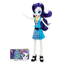 Buy My Little Pony Equestria Girls: Friendship Games, Rarity Doll Online at johnlewis.com