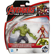 Buy The Avengers: Age of Ultron Savage Hulk & Ultron Hunter Iron Man Figure Pack Online at johnlewis.com