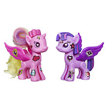 Buy My Little Pony Princess Twilight Sparkle & Princess Cadance Deluxe Style Kit Online at johnlewis.com