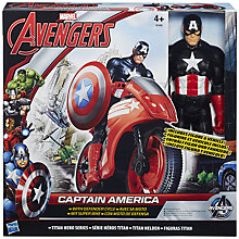 Buy The Avengers Captain America & Defender Cycle Set Online at johnlewis.com