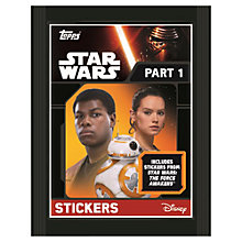 Buy Star Wars Episode VII: The Force Awakens Stickers, Pack of 5 Online at johnlewis.com