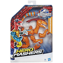 Buy Jurassic World Hero Mashers Figure, Parasaurolophus Online at johnlewis.com