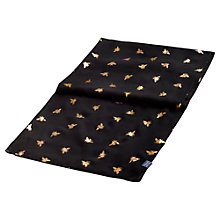 Buy Joules Orna Bee Scarf, Black Online at johnlewis.com