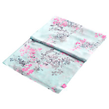 Buy Joules Harmony Floral Scarf, Aqua Online at johnlewis.com