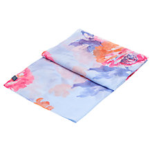 Buy Joules Wensley Scarf, Blue/Rose Online at johnlewis.com