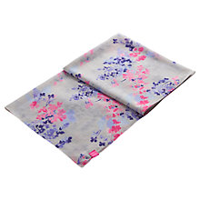 Buy Joules Julianne Scarf, Silver Petal Online at johnlewis.com
