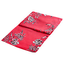 Buy Joules Wensley Floral Scarf, Pink Online at johnlewis.com