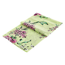 Buy Joules Wensley Floral Print Scarf, Lime/Purple Online at johnlewis.com