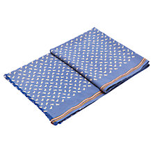 Buy Joules Somerville Hare Scarf, Chambray Online at johnlewis.com
