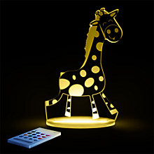 Buy Aloka Baby Giraffe Sleepylight Night Light Online at johnlewis.com