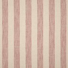 Buy John Lewis Brody Stripe Fabric, Coastal Red, Price Band C Online at johnlewis.com