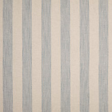 Buy John Lewis Brody Stripe Fabric, Pacific Blue, Price Band C Online at johnlewis.com