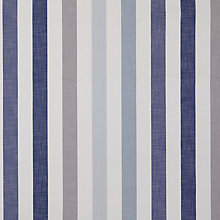 Buy John Lewis Solva Fixed Fabric, Stripe Blueprint, Price Band B Online at johnlewis.com