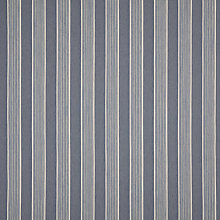 Buy John Lewis Telma Woven Stripe Fabric, Pacific Blue, Price Band B Online at johnlewis.com