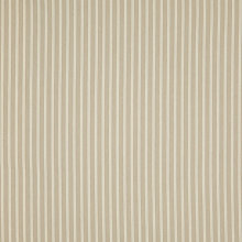 Buy John Lewis Berlin Woven Stripe Fabric, Natural Grey, Price Band B Online at johnlewis.com