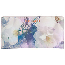 Buy Ted Baker Patent Crystal Purse, Blue Online at johnlewis.com