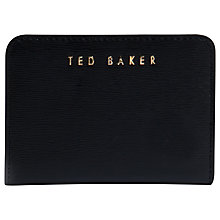 Buy Ted Baker Lorren Crosshatch Leather Purse Online at johnlewis.com