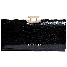 Buy Ted Baker Jennie Exotic Leather Matinee Purse Online at johnlewis.com