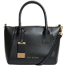 Buy Ted Baker Lauren Small Tote, Black Online at johnlewis.com
