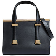 Buy Ted Baker Cristie Leather Small Metal Bar Tote Bag Online at johnlewis.com