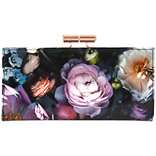 Buy Ted Baker Mawson Flora Matinée Purse, Grey Online at johnlewis.com