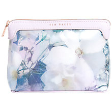 Buy Ted Baker Sareana Small Makeup Bag, Multi Online at johnlewis.com