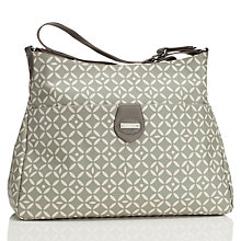 Buy Storksak Nina Changing Bag, Grey Online at johnlewis.com